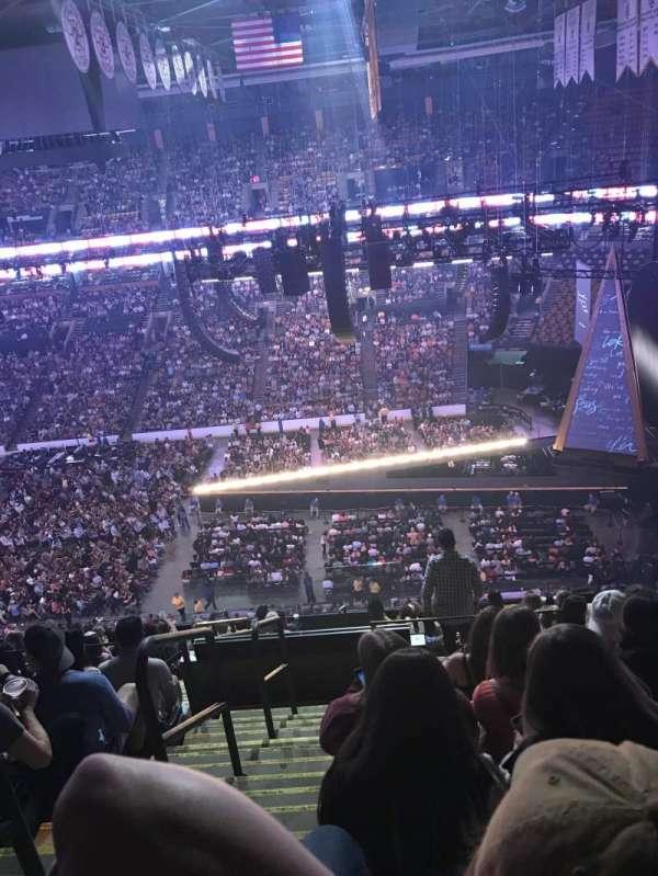 TD Garden, section: Bal 329, row: 13, seat: 21