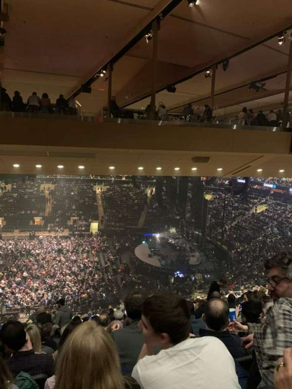 Madison Square Garden, section: 212, row: 19, seat: 8