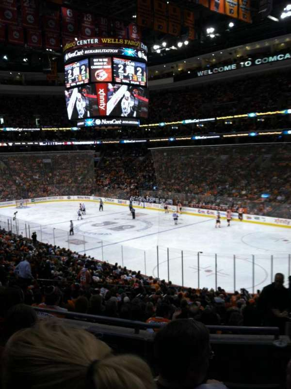 Wells Fargo Center, section: Club Box 16, row: 4, seat: 20