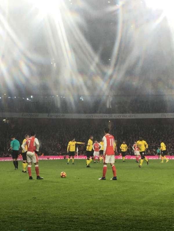 Emirates Stadium, section: 2, row: 2, seat: 56