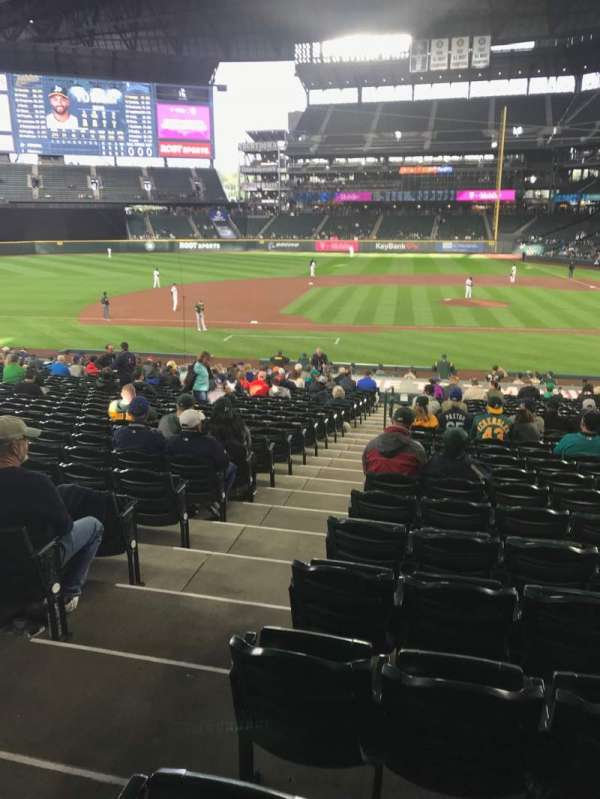 T-Mobile Park, section: 138, row: 26 , seat: 10