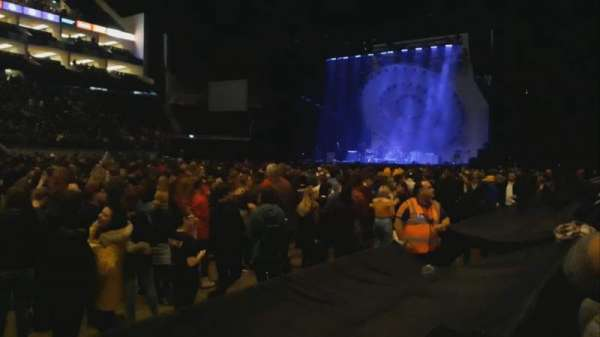 The O2 Arena, section: 111, row: C, seat: 330