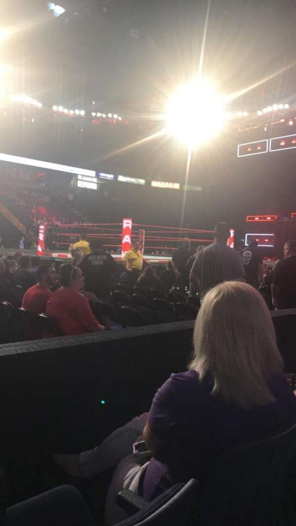 Times Union Center, section: 121, row: BB, seat: 15