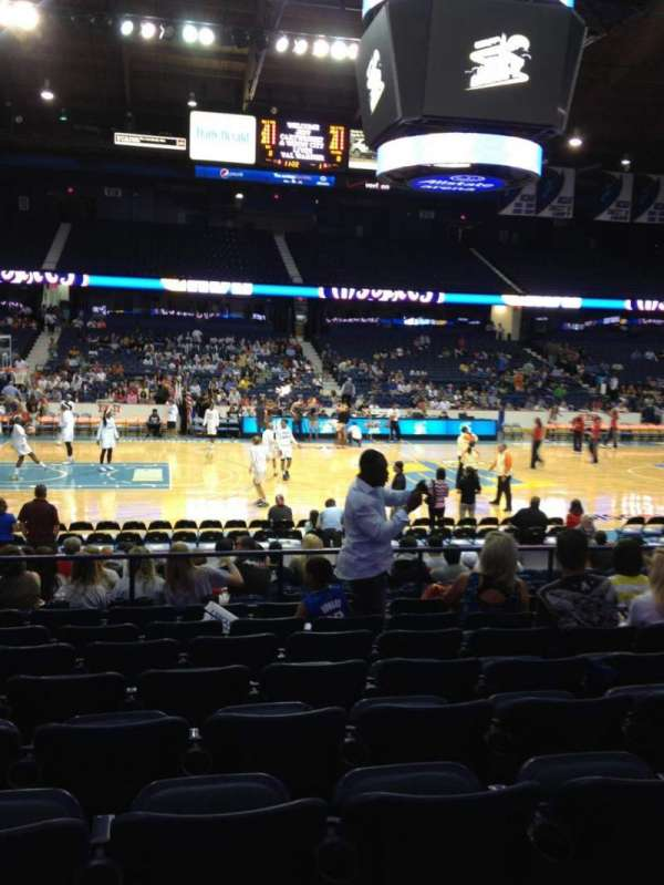 Allstate Arena, section: 103, row: J, seat: 17