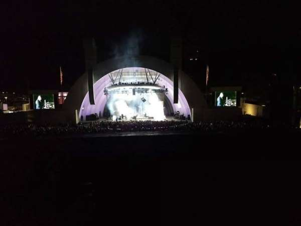 Hollywood Bowl, section: G1, row: 4, seat: 21