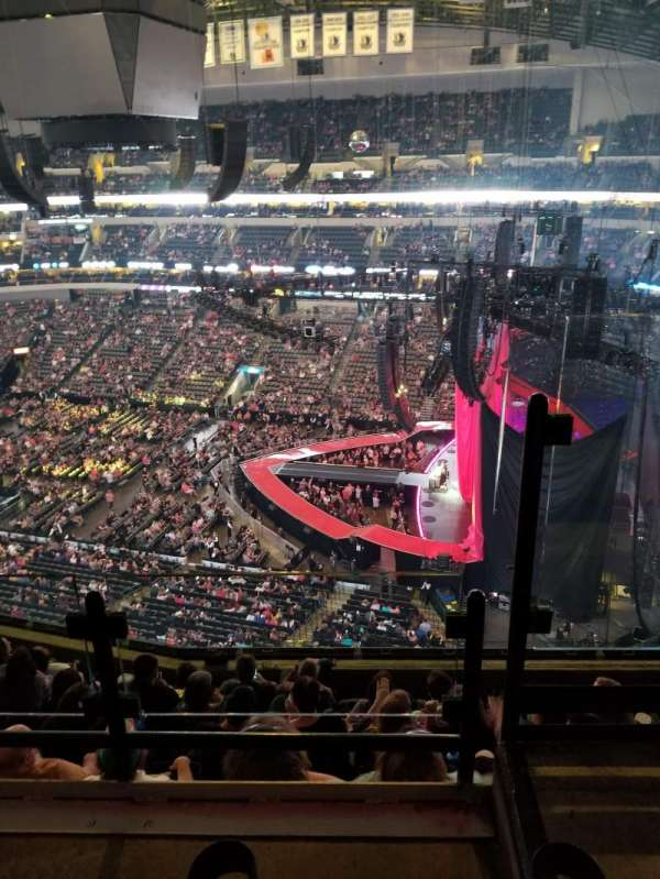 American Airlines Center, section: 307, row: G, seat: 1