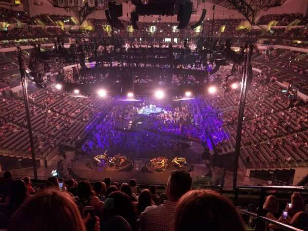 American Airlines Center, section: 301, row: C, seat: 1