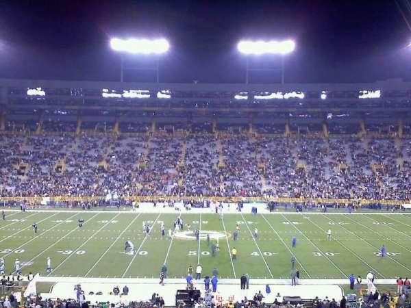 Lambeau Field, section: 120, row: 55, seat: 15