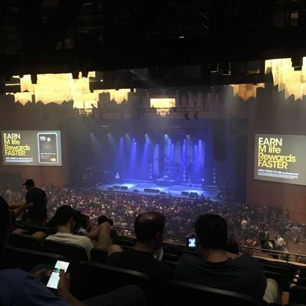 The Theater at MGM National Harbor, section: 302, row: J, seat: 7