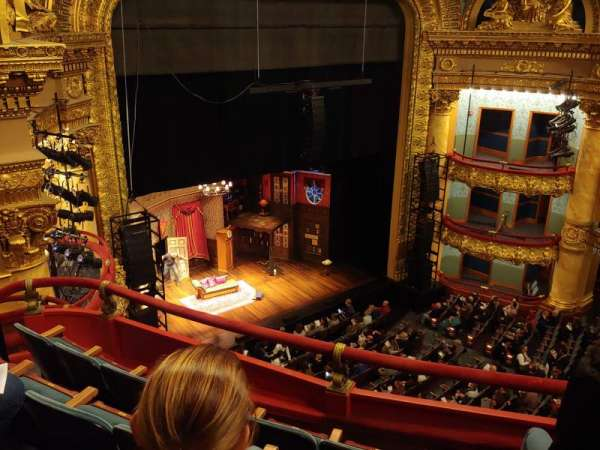 Emerson Colonial Theatre, section: Balcony, row: D, seat: 25