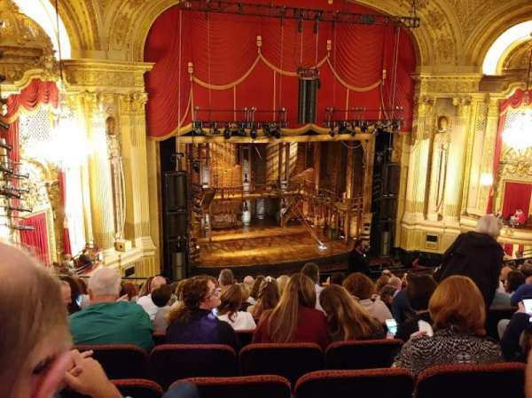 Citizens Bank Opera House, section: Mezzanine Left, row: K, seat: 9