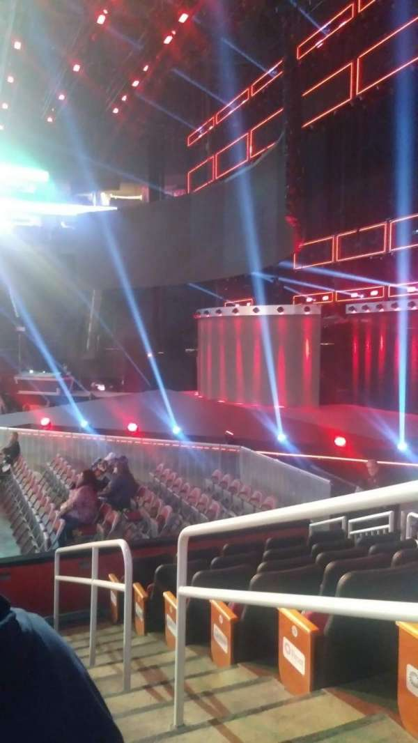 Toyota Center, section: 106, row: 7,8, seat: 1,2,3