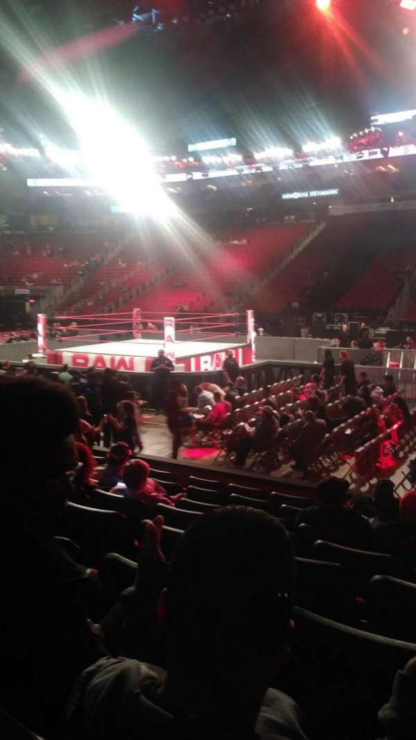 Toyota Center, section: 106, row: 8, seat: 2