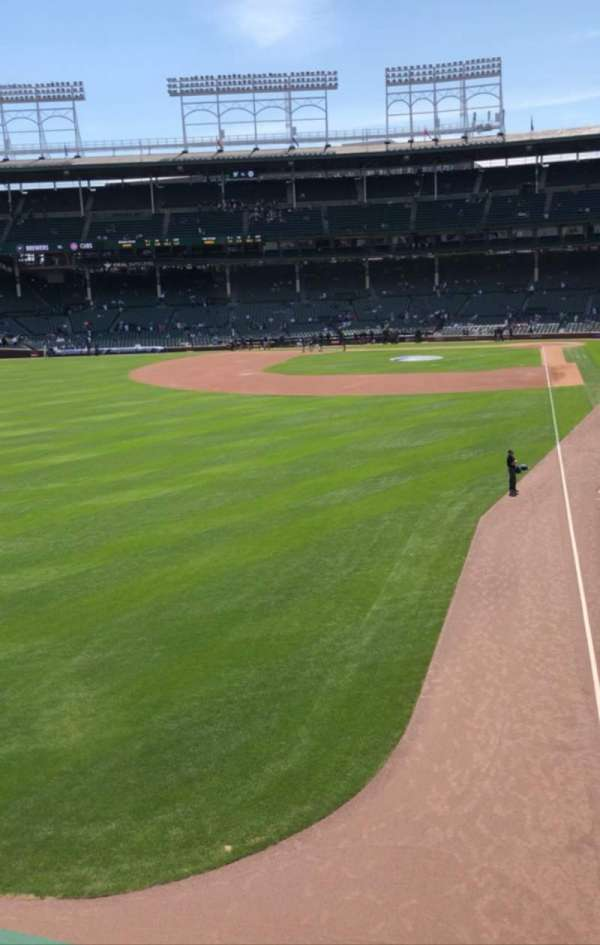 Wrigley Field, section: Terrace, row: Standing Room, seat: Left Filed
