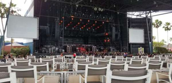 iThink Financial Amphitheatre, section: 7, row: H, seat: 27