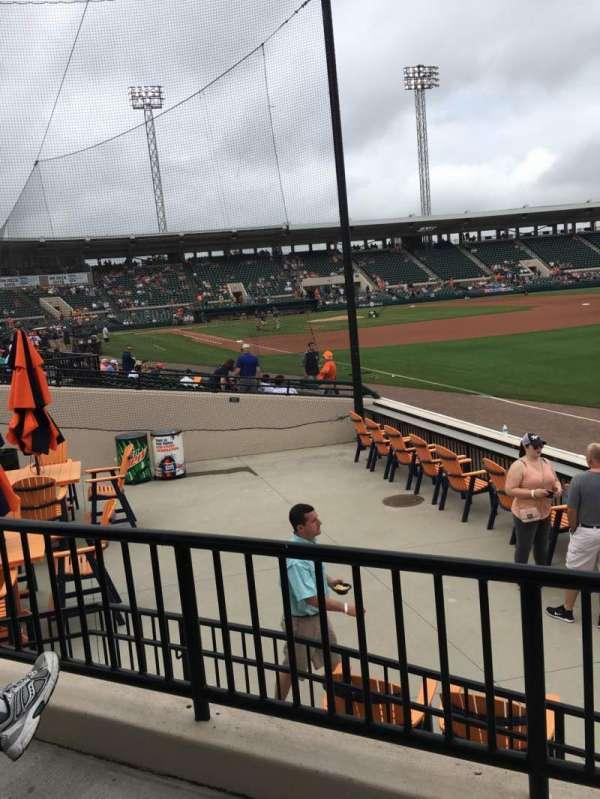 Joker Marchant Stadium, section: Pepsi Pavilion