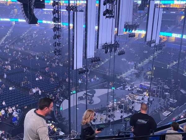 Amalie Arena, section: Club 7, row: H, seat: 2