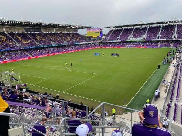 Exploria Stadium, section: 122, row: F