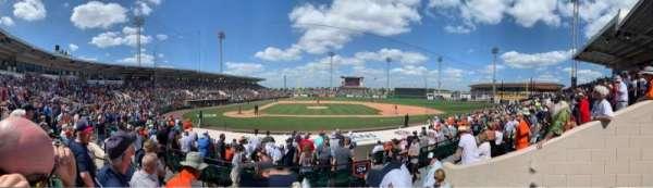 Joker Marchant Stadium, section: 203, row: C, seat: 20