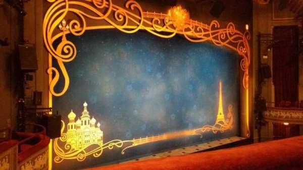 Broadhurst Theatre, section: Mezzo, row: A, seat: 17