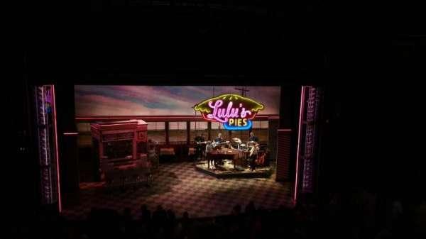 Brooks Atkinson Theatre, section: Mezz, row: E, seat: 116