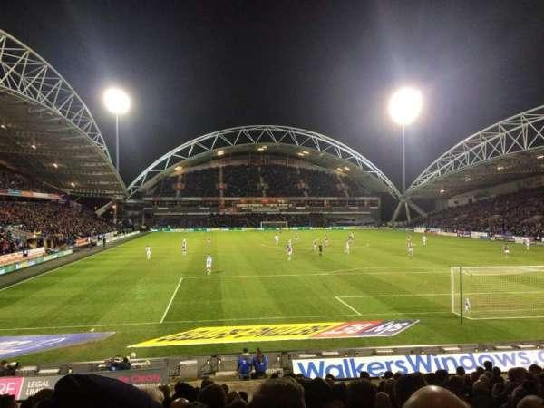 John Smith's Stadium, row: R, seat: 109