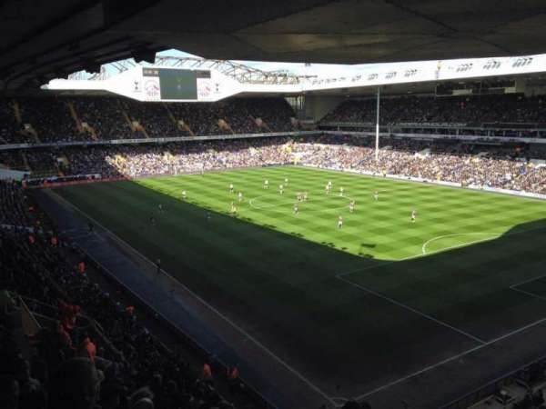 White Hart Lane, section: 46, row: 15, seat: 240