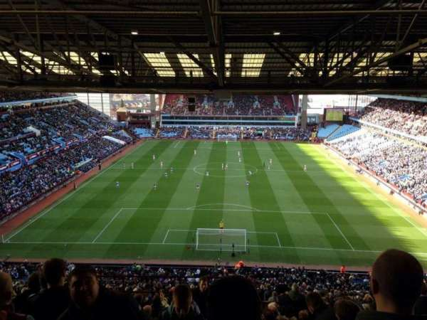 Villa Park, section: K4, row: 27, seat: 121
