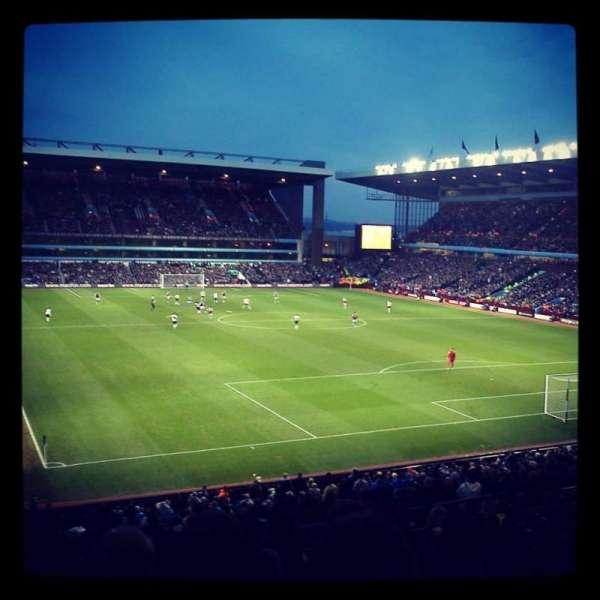 Villa Park, section: L8, row: SS, seat: 209