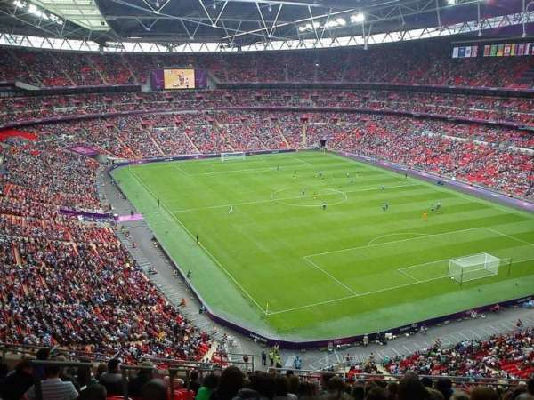 Wembley Stadium, section: 544, row: 15, seat: 124