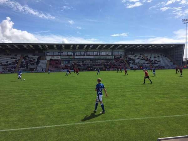 Globe Arena, section: North Terrace