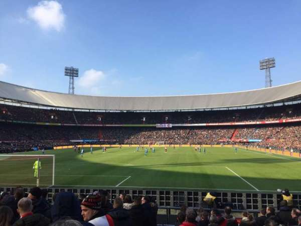 De Kuip, section: Y1, row: 11, seat: 153