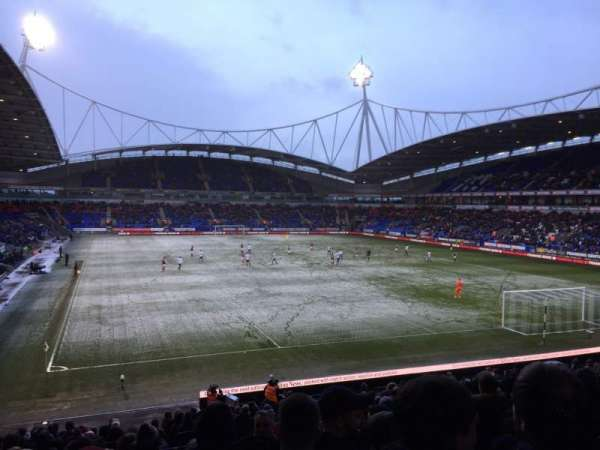Macron Stadium, section: E, row: Z, seat: 50