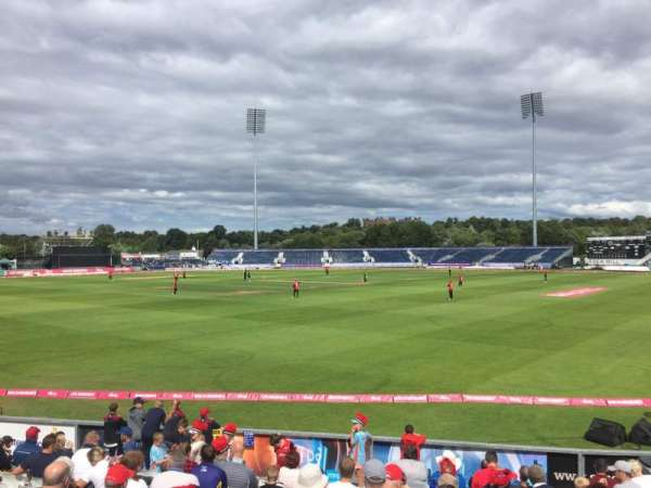 Emirates Durham, section: Don Robson Pavilion