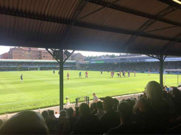 Roots Hall, section: NF, row: P, seat: 189