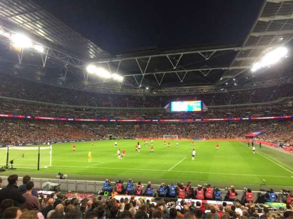 Wembley Stadium, section: 109, row: 18, seat: 214