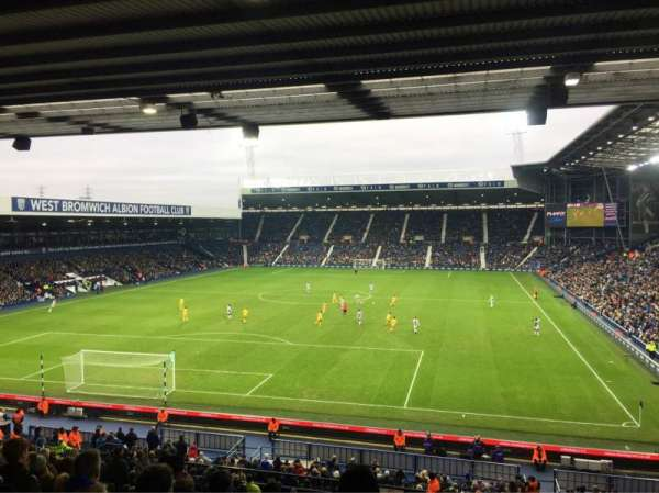 The Hawthorns, section: A2, row: SS, seat: 20