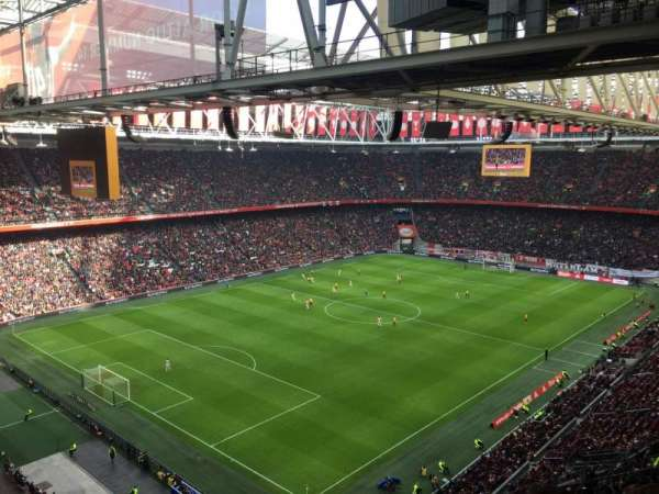 Amsterdam Arena, section: 409, row: 24, seat: 80