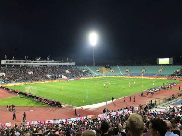 Vasil Levski Stadium, section: 44, row: 35, seat: 23