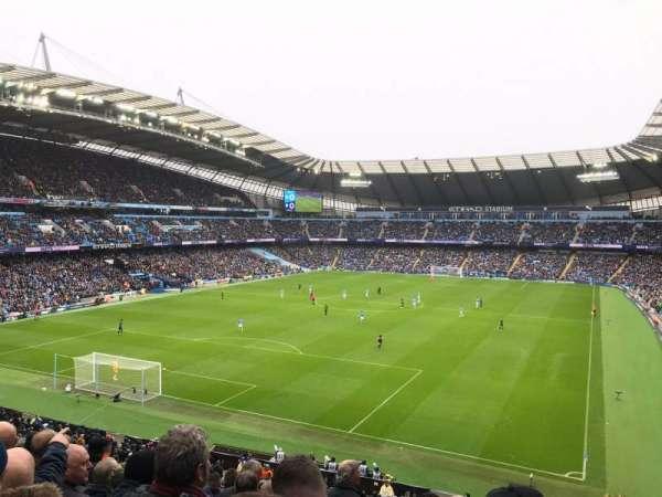 Etihad Stadium (Manchester), section: 213, row: L, seat: 340