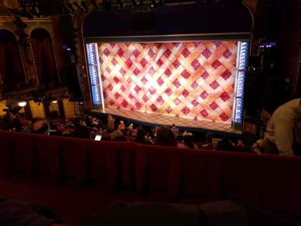 Brooks Atkinson Theatre, section: Center Mezzanine, row: E, seat: 101