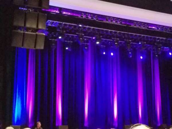 Borgata Event Center, section: 100, row: 16, seat: 14