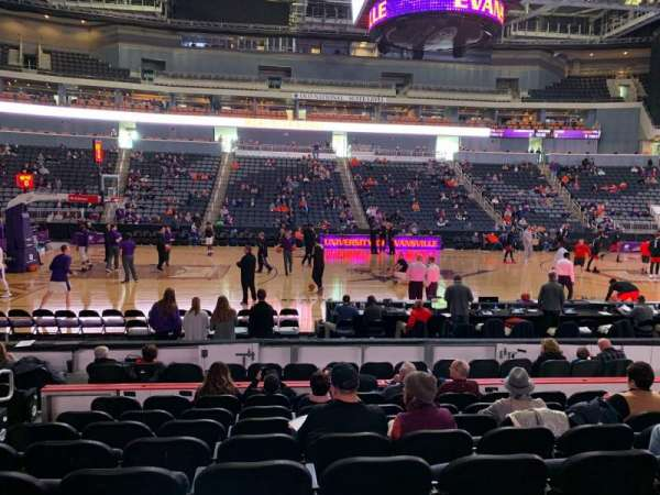 Ford Center (Indiana), section: 106, row: K, seat: 13