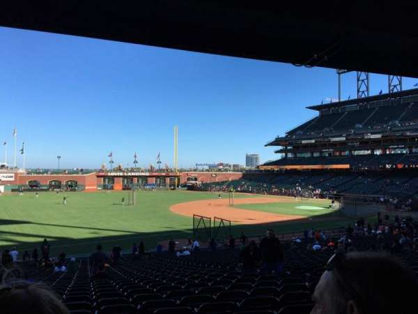 AT&T Park, section: 128, row: 35, seat: 8