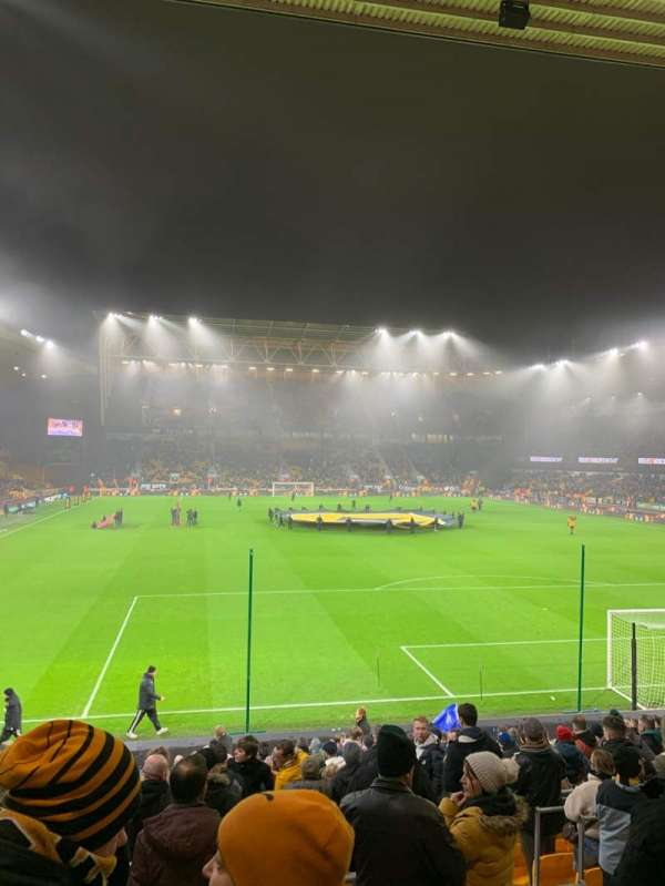Molineux Stadium, section: SL4, row: W, seat: 111