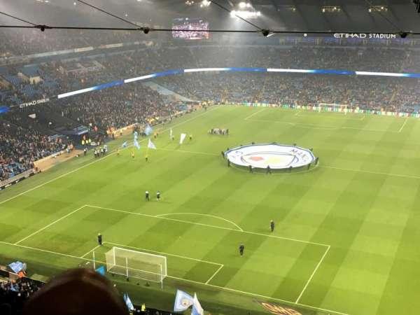 Etihad Stadium (Manchester), section: 313, row: FF, seat: 344