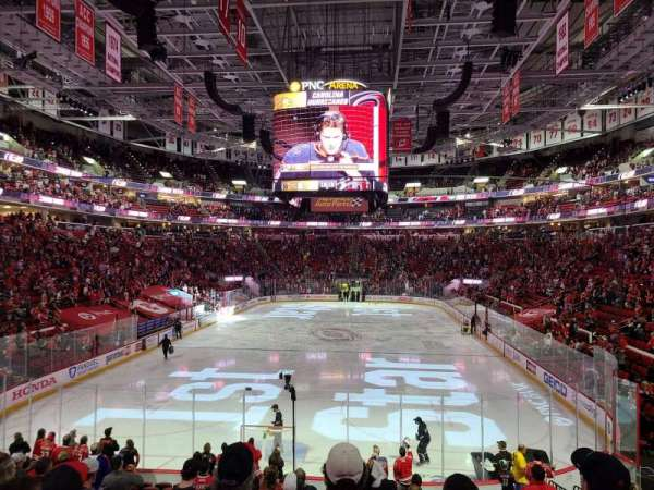 PNC Arena, section: 126, row: s, seat: 9