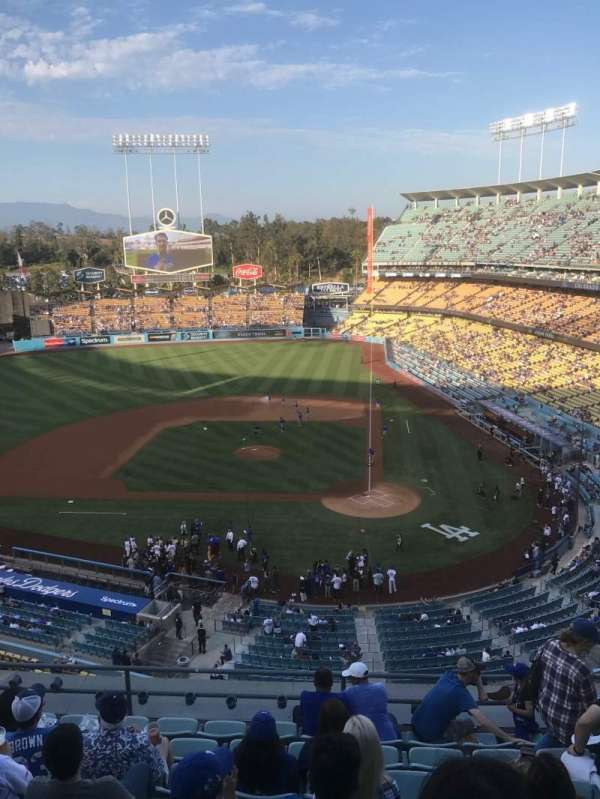 Dodger Stadium, section: Reserve MVP 9, row: L, seat: 6
