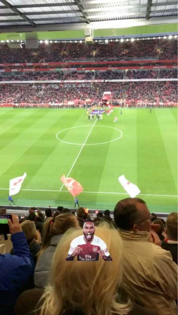 Emirates Stadium, section: 112, row: 15, seat: 584
