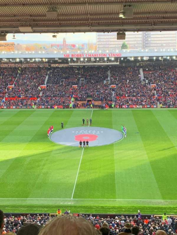 Old Trafford, section: N3405, row: 17, seat: 109